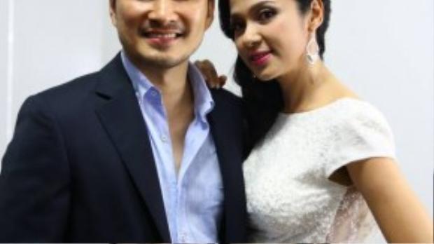 Việt Trinh - Chi Bảo là hai giám khảo của đêm thi.
