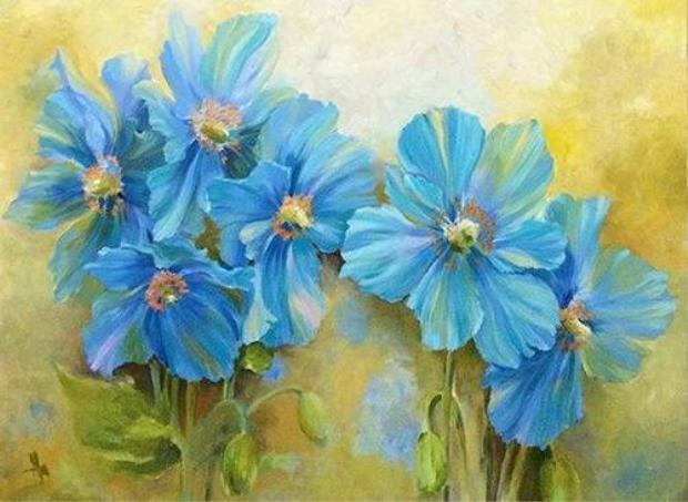 Bay bổng cùng triển lãm tranh Mùa xuân của chị em NTK Quỳnh Paris
