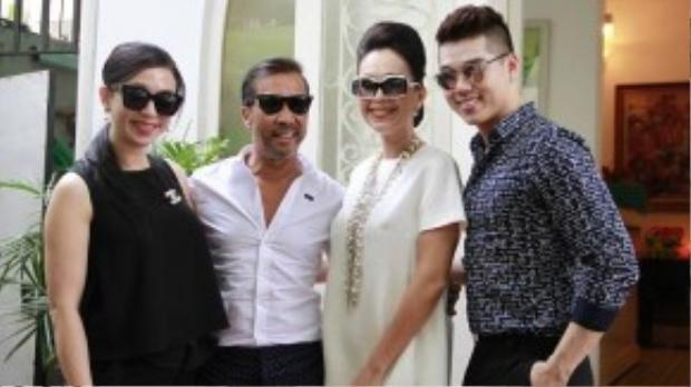 Fashionista U60 Thuận Nguyễn hội ngộ cùng Diễm My và những người bạn.