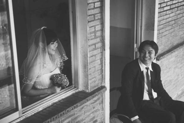 Tâm sự phía sau bộ ảnh cưới của cặp đôi khuyết tật gây xúc động