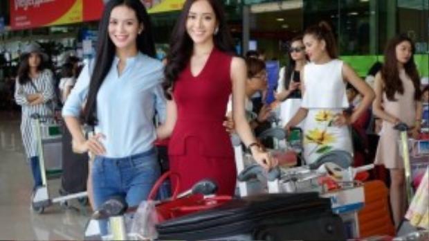Các thí sinh 2 miền Nam - Bắc đã có mặt đầy đủ tại Nha Trang.