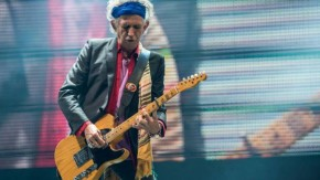 Tay guitar kỳ cựu Keith Richards.