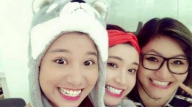 Bộ ba Phượng Vũ - Tố Ny - Vicky Nhung.