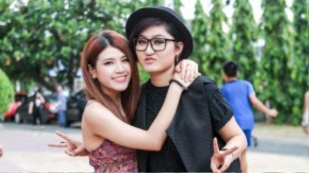 Tố Ny và Vicky Nhung đang dính tin đồn yêu đương đồng tính.