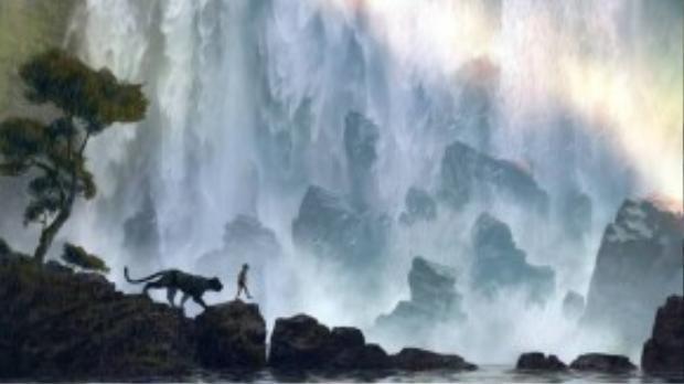 """Bối cảnh hùng vĩ và hoang sơ của thiên nhiên được khắc họa tuyệt đẹp qua bàn tay của những """"nghệ nhân"""" Disney."""