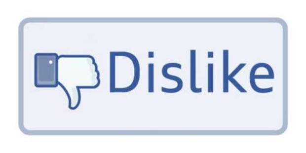 Nút dislike sắp cập bến Facebook