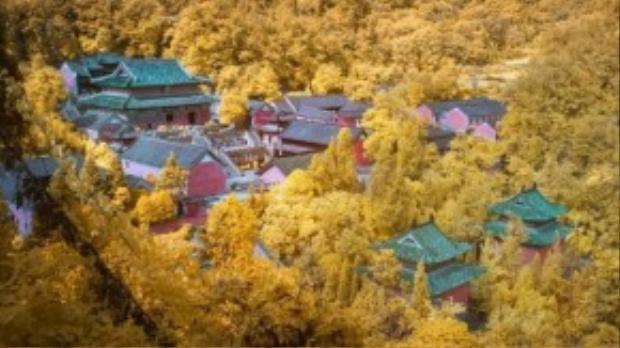 Núi nằm ở phía nam thành phố Thập Yển, Tây Bắc của tỉnh Hồ Bắc. Nơi đây là một trong những cái nôi võ thuật của Đạo giáo, Thái Cực quyền và Bát Quái chưởng của Trung Quốc.