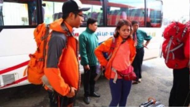 Các tay đua trải qua một hành trình dài để có mặt tại Đà Lạt.