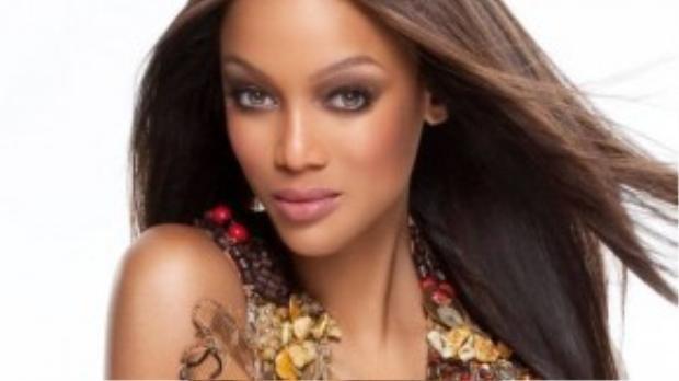 Siêu mẫu kỳ cựu Tara Banks.