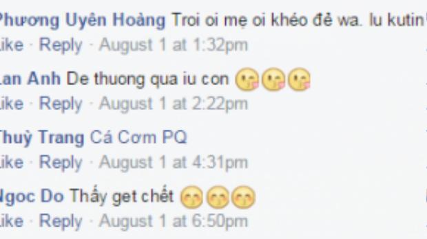 Trên mạng xã hội, rất nhiều bình luận bày tỏ sự yêu thích cậu bé bánh bao.
