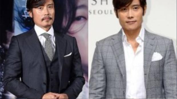 Trong buổi họp báo ra mắt phim mới, Lee Byung Hun bị chê giống ông lão khi để râu, tóc dài.