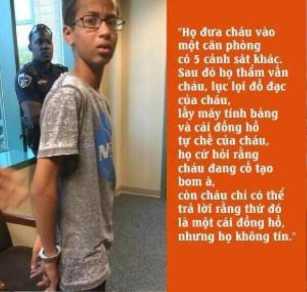 Cậu bé chế tạo đồng hồ bị nhầm là bom và cách nước Mỹ xin lỗi một đứa trẻ