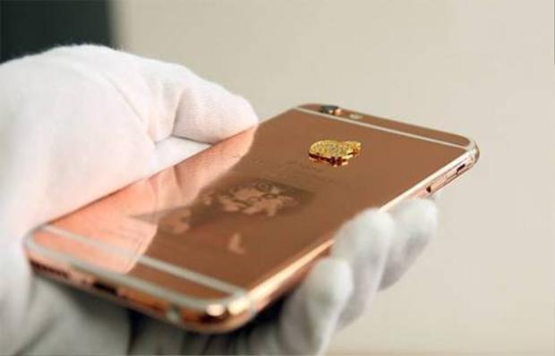 Dịch vụ mạ iPhone 6 thành 6s hồng vàng của Việt Nam lên báo Mỹ