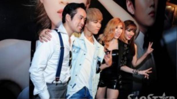 """Không chỉ nhờ tài năng viết nhạc thiên bẩm của mình, Trang Pháp còn mời """"phù thủy âm nhạc"""" Dương Khắc Linh, Ray HAHM (từng hợp tác với Bi Rain, Super Junior) và Seoung Ji Hoon - người đã góp tay vào thành công của Gangnam Style, tham gia dự án."""