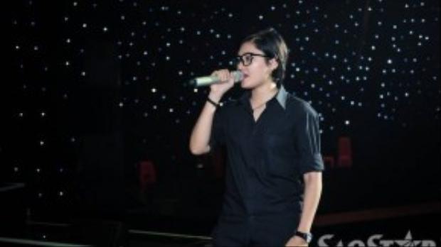 Vicky Nhung cũng có mặt trong đêm Gala.