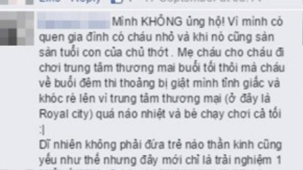 Tranh cãi của cư dân mạng xoay quanh câu chuyện bà mẹ đưa con nhỏ đi xuyên Việt - (Ảnh chụp màn hình)