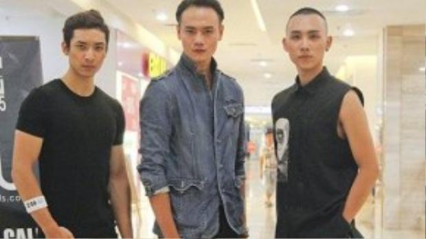 Từ trái qua: Hoàng Gia Anh Vũ, Duy Anhvà Hoàng Anh Tú.