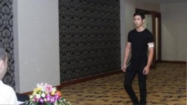 Hoàng Gia Anh Vũ - thí sinh Vietnam's Next Top Model mùa 8.