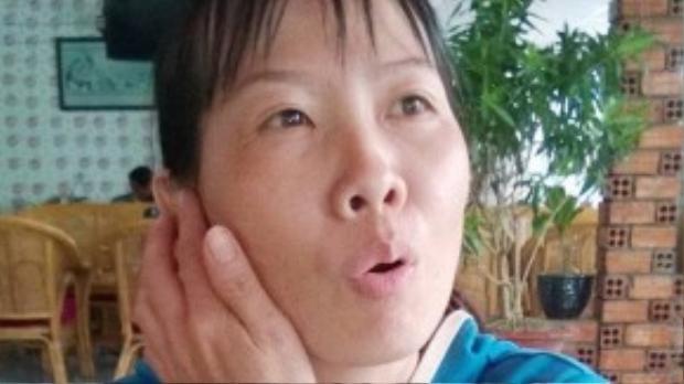 """""""Tôi khởi kiện chị Ngân để tòa án xử theo quy định của pháp luật"""", chị Mai nói. Ảnh: Nhật Tân."""