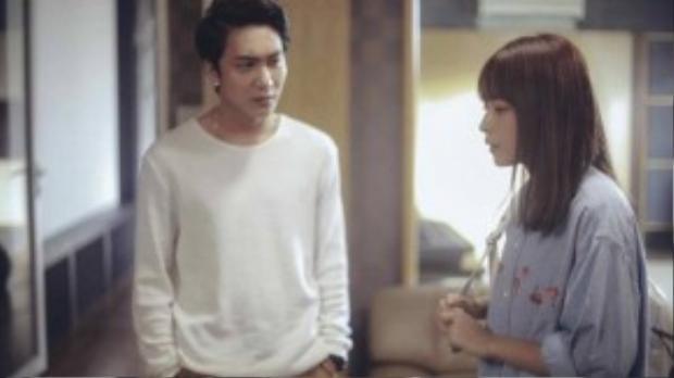 Hoàng - nhân vật của hot boy Bê Trần với tính cách có phần cứng nhắc sẽ hóa thân thành bạn trai của Nhi.