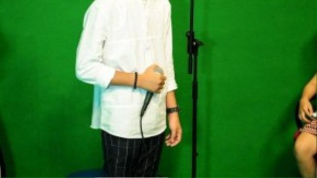 Hiện tại Quang Anh cũng đang theo học tại Học viện âm nhạc Quốc gia.