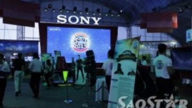 Sony Show 2015 được chia ra nhiều gian khác nhau để giới thiệu mọi loại sản phẩm công nghệ của Sony.