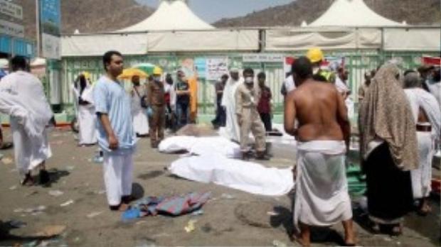 Một người hành hương Sudan nói rằng cuộc hành hương năm nay ở Mina được tổ chức kém nhất trong số 4 năm mà anh từng tham gia. (Ảnh: Daily Mail)
