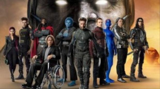 X-Men: Apocalypse sẽ là dự án dị nhân lớn nhất từ trước đến nay.