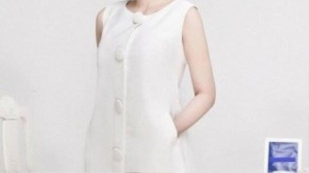 Với phong cách mới, Quỳnh Chi chú trọng vào sự thanh lịch với các gam màu pastel tinh tế.