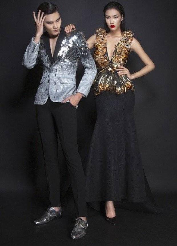 Quang Hùng, Nguyễn Oanh trở thành gương mặt đại diện Vietnam International Fashion Week