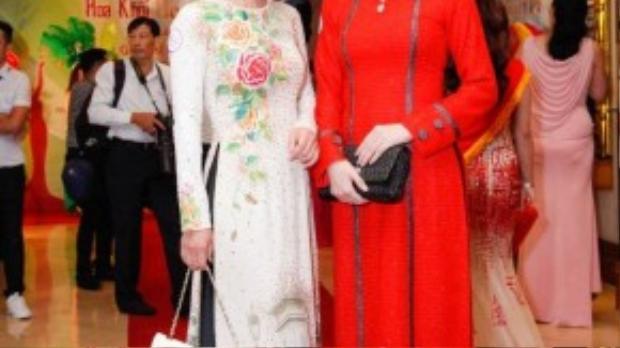 """Mai Thu Huyền sẽ cùng Hoa hậu phu nhân Bùi Thị Hà ngồi """"ghế nóng""""."""