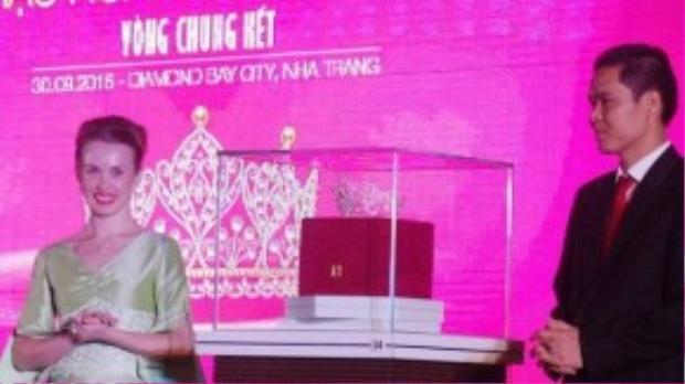Chiếc vương miện sẽ được trao cho Hoa hậu Hoàn vũ 2015