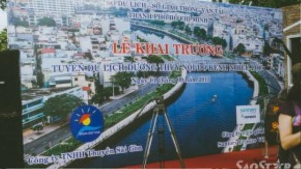 Đây là lần đầu tiên thành phố đưa dòng kênh Thị Nghè - Nhiêu Lộc vào khai thác du lịch.