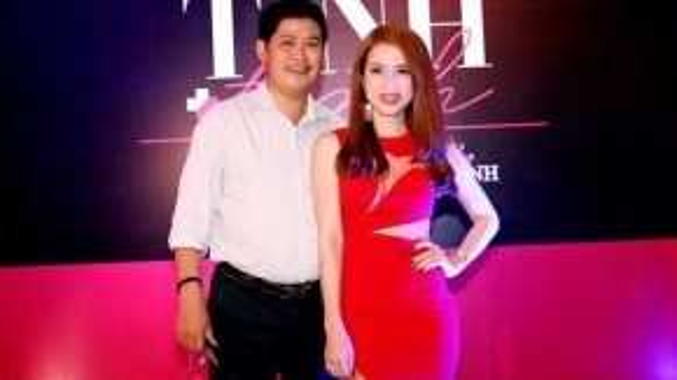 Phước Sang trong buổi ra mắt phim Tình + tình - dự án do hãng phim của anh đầu tư hồi giữa năm 2015. Anh thừa nhận tài sản bị mất trắng do kinh doanh thua lỗ đến 70% nhưng không đến nỗi phải ở nhà thuê - Ảnh: Huy Nguyễn