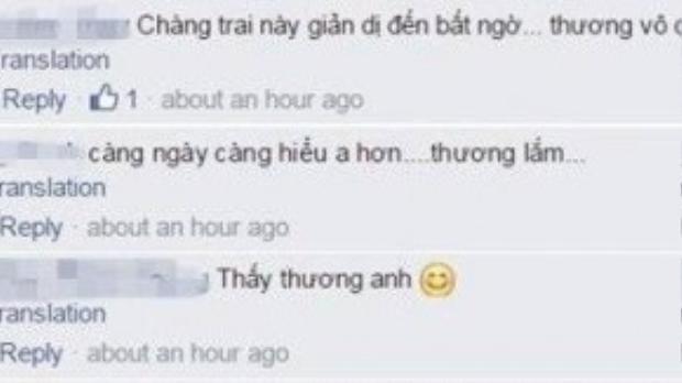 Cư dân mạng xúc động về sự chân chất của chàng trai gốc Thái Bình.