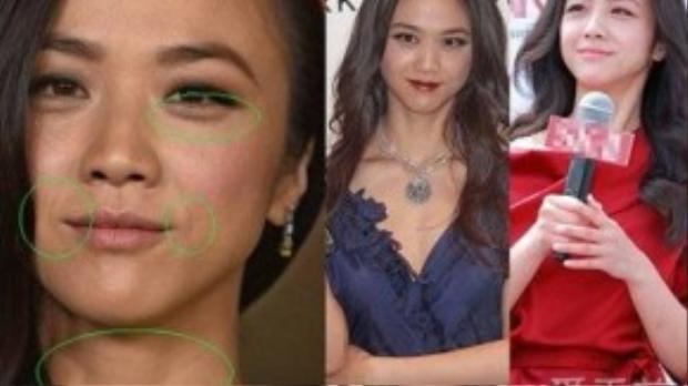 Thang Duy với gương mặt đầy nếp nhăn và vùng da chảy xệ thấy rõ. Người đẹp Sắc giới thừa nhận dù cô được báo chí khen ngợi nhan sắc nhưng mỗi lần nhìn vào gương, cô đều thất vọng với chính bản thân mình.