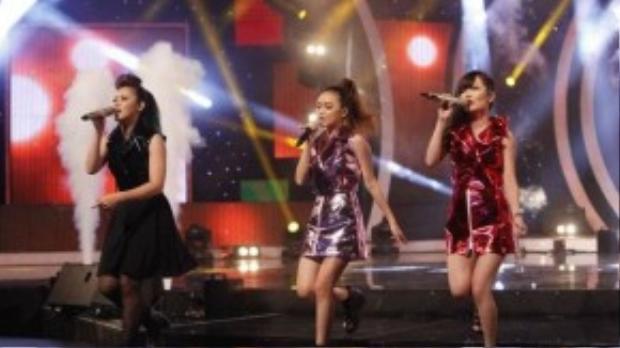 Với bài Yêu của nhạc sĩ Khắc Hưng, nhóm của ba học viên Thảo Nhi, Thuý Hường và Tiểu Nương đã mang lại không gian âm nhạc sôi động, trẻ trung, tươi vui và là một tiết mục giải trí thực sự trong đêm trình diễn - đề cử đầu tiên.