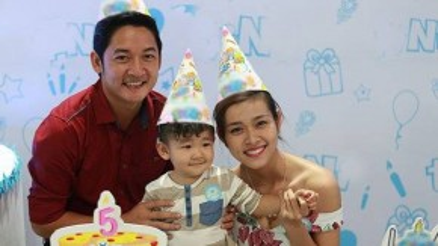 Dù ly hôn gần 1 năm nay nhưng Diệp Bảo Ngọc và Thành Đạt vẫn giữ mối quan hệ tốt vì con trai Kid.