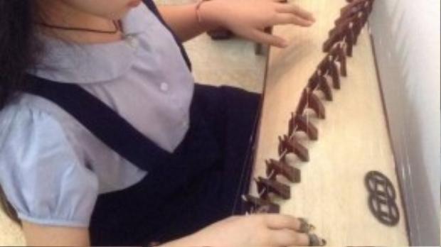 Ngoài khả năng ca hát, Hồng Minh còn biết chơi đàn tranh. Cô bé chia sẻ, ngoài những giờ học trên lớp thì thời gian ở nhà thường dành cho việc tập luyện đánh đàn. Ngoài ra, Hồng Minh còn biết đánh đàn piano và từng giành giải nhất cuộc thiĐàn piano học sinh và giáo viêncấp thành phố.