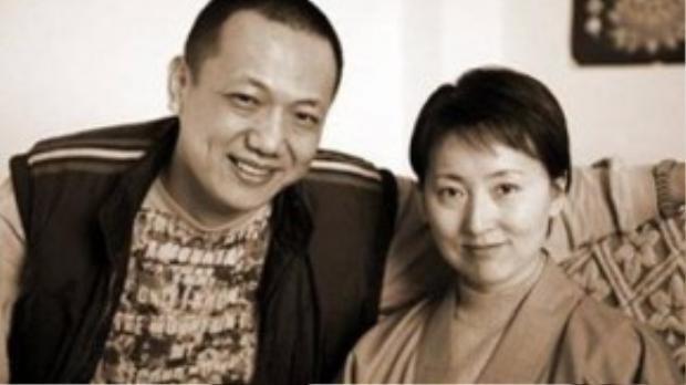 Hác Đồng và Trần Hiểu Húc chụp ảnh khi cô quyết định xuất gia.