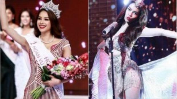 Hoa hậu Phạm Hương và ca sĩ Hà Hồ có nhiều điểm giống nhau về ngoại hình.
