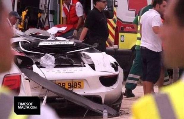 Tỷ phú Anh phá siêu xe 18 tỷ đồng khiến 20 người bị thương