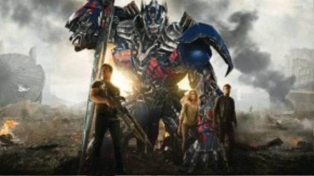 Age of Extinction là phần phim thứ 2 đạt doanh thu 1 tỷ USD của series Transformers.