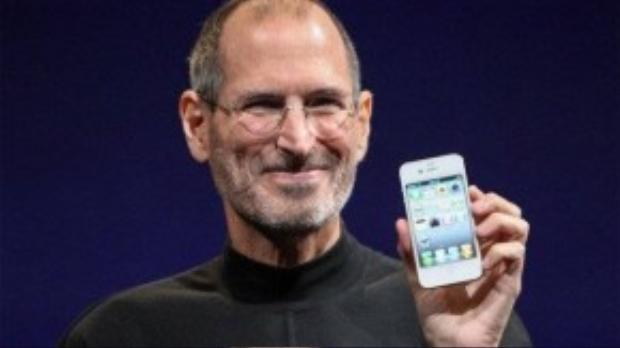 Hình ảnh cố CEO Steve Jobs rạng rỡ ngày nào.