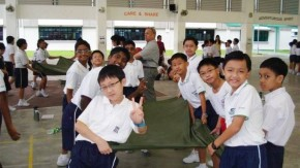 Trẻ em Singapore được đào tạo sự tự tin và các kỹ năng sống cơ bản nhất từ khi còn nhỏ.