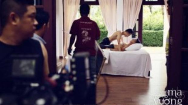 Những cảnh nóng tiêu biểu cho phong cách làm phim của Vũ Ngọc Đãng.