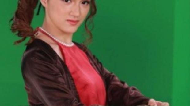 Hương Giang còn hoá thân vào hình ảnh cô gái Bắc bộ.