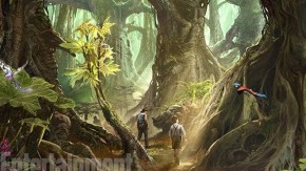 Khu rừng hùng vĩ trong phim được lấy ý tưởng từ Việt Nam. (Ảnh: Warner Bros)