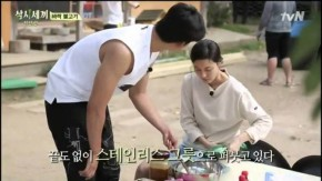 Kim Ha Neul trong Three Meals a Day.