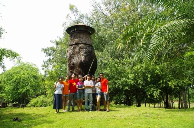 Khu cắm trại đẹp tựa châu Âu chỉ cách Sài Gòn 40km